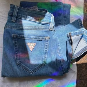 Vintage Guess Jeans ankle zipper